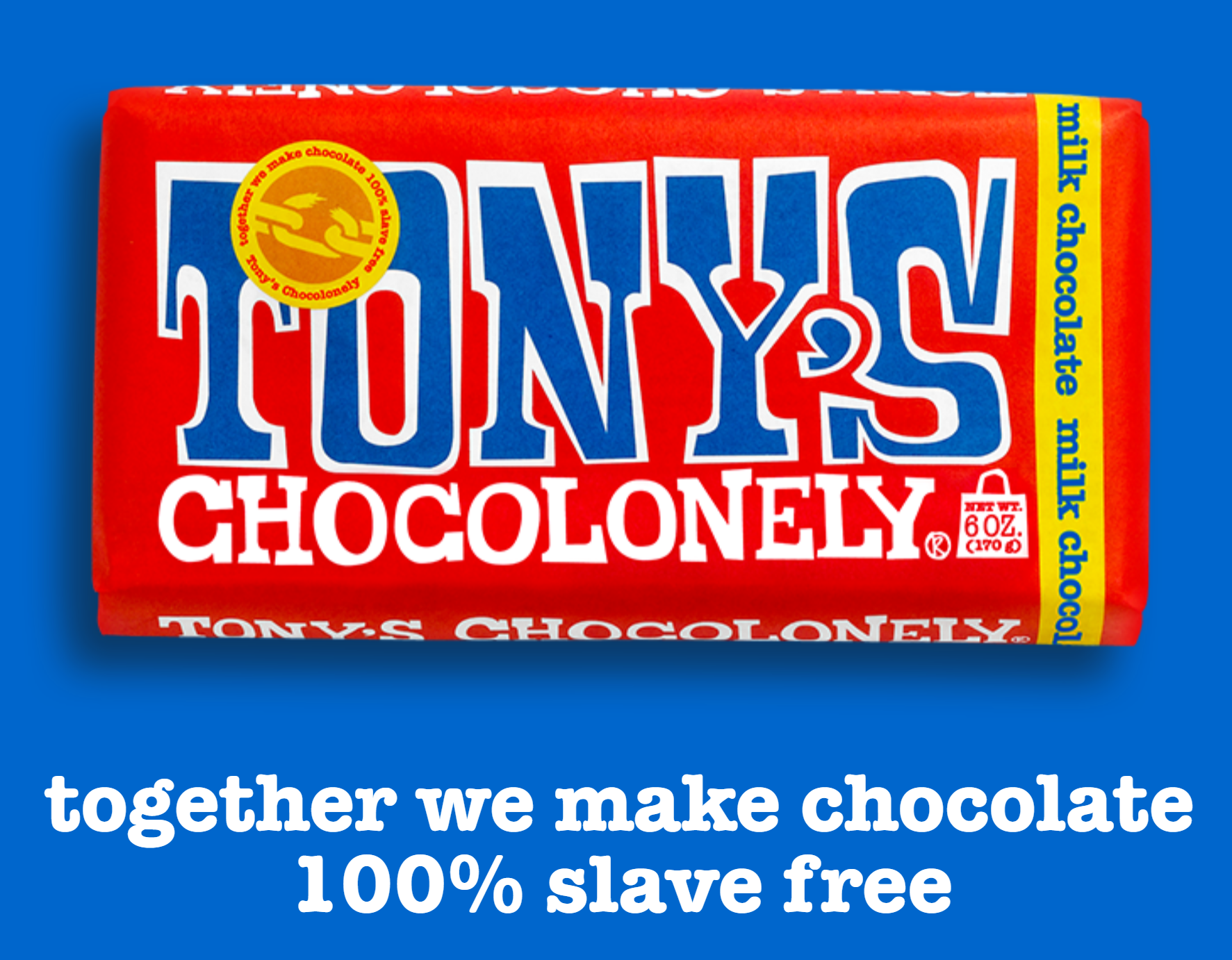 Tony's Chocolonely chocolate bars