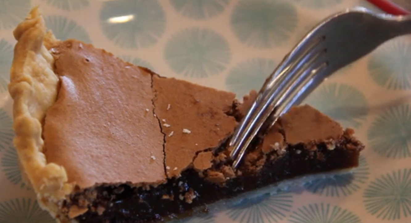 Belle's Chocolate Chess Pie