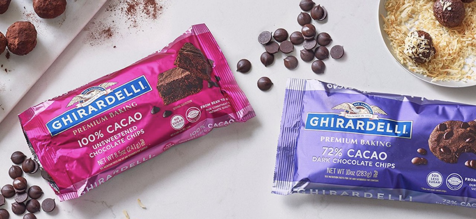 Ghirardelli chocolate baking chips