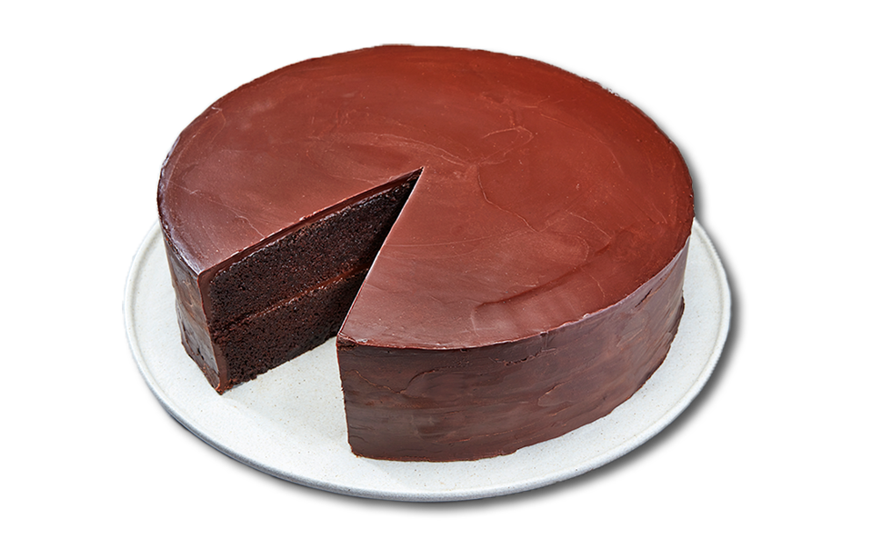 Planta vegan chocolate cake
