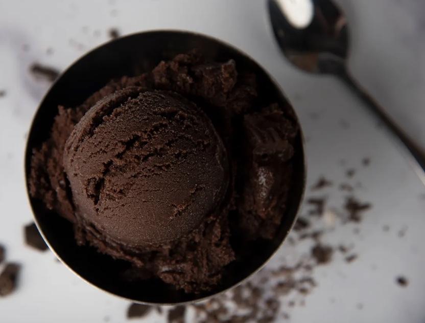 Graeter chocolate sorbet