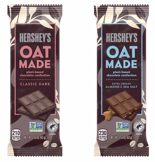 Hershey's vegan chocolate bars