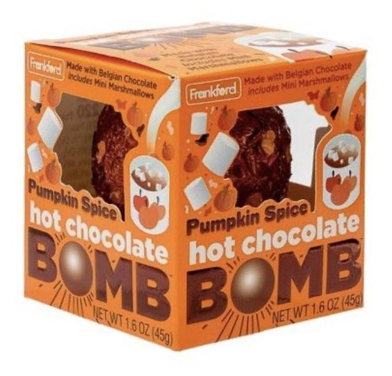 chocolate pumpkin bombs