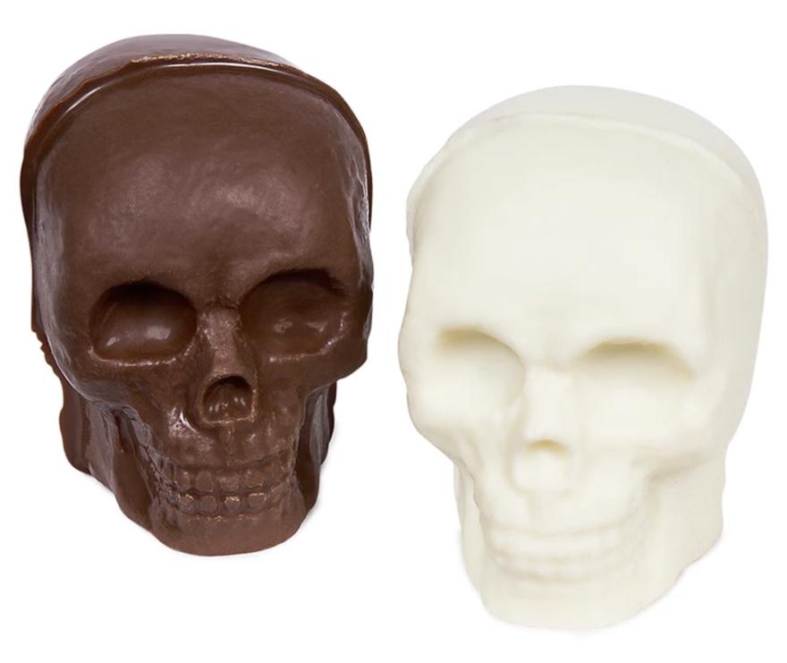 skull chocolate bombs